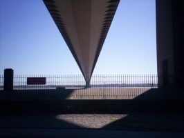 Humber bridge by Holsmetree