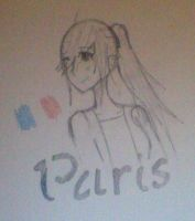 Paris (Hetalia OC) by LuckyJiku
