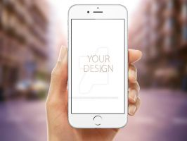 iPhone 6s Photorealistic Mockups PSD by theanthnonyrich