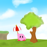 Kirby! by BoreDoodlez