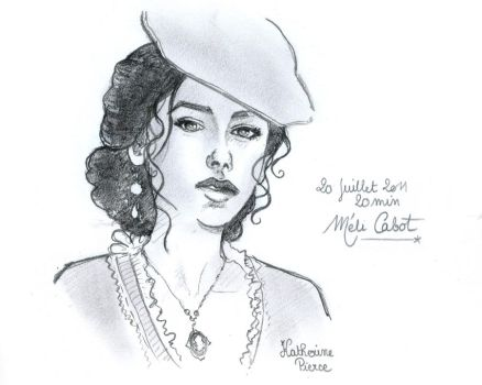 20min - Katherine sketch by Mrs-C