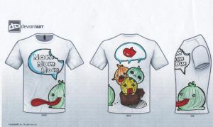 Cute Monsters Tee by iHeartMunchies