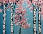 Spring love Series Birch 1 by LeahGarcia