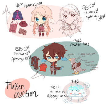 Fluffen Mini Auction batch III (ended) by Steamed-Bun