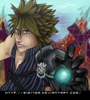 Cloud Strife Materia's power by Sig17gm