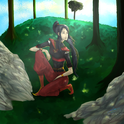 Nula (Without Much Lighting) by Katara1111