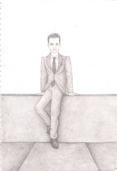 Moriarty Drawing by DeductiveAndroid