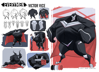 Everymen - Victor Vice by phantomthepencil