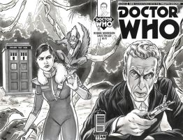 Doctor Who 12th Doc Sketch Cover by timshinn73