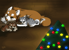 Christmas at home by UkeAnttu