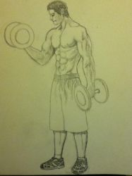 Workout Man by Camilo101