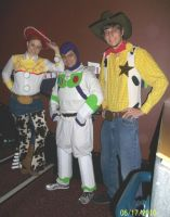 The Toy Story Gang by JMKohrs