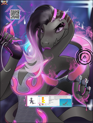 Sombra (Salazzle) by PhillLord