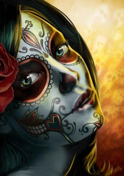 Day of the Dead by LawrenceMann