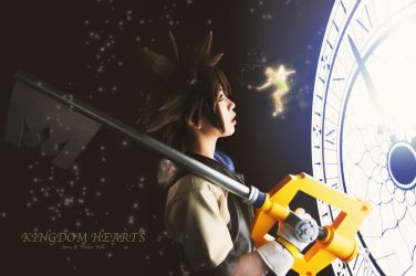 Sora and Tinker Bell - Kingdom Hearts by Link130890