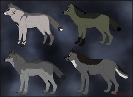 The Wounded Adoptables 2 by Lordfell