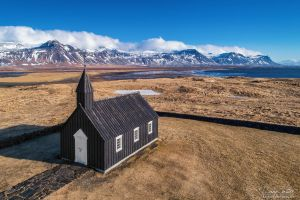 The black church of Budir by LinsenSchuss