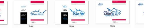 Blue Fin - Logo by nicy2002
