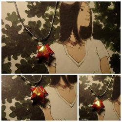 Catch a Falling Star necklace by Yun-Zhen