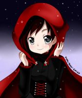 Hooded Ruby by Final-Boss-Emiko