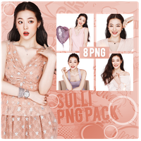 Sulli PNG PACK by michiru92