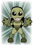 Cinnamon Buckingham-Creature from the Black Lagoon by shineyorkboy