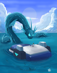 Ocean Planet by StrixMoonwing