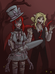 Lillian and Adelmar by stephi-JK