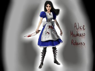 Alice Madness Returns by Nutauke