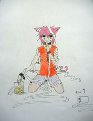 my traditional drawing... ehe.... by reykuro13