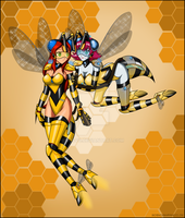 commission - more bees by Rosvo