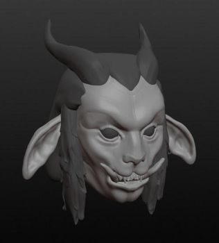 Goatman Sculpt by KeimoJ