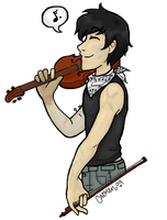 The Undead Musician by ImperialSugar