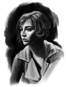 Allison Scagliotti sketch by tonyob