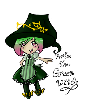 Chibi Witchsona by Lefuulei-Art