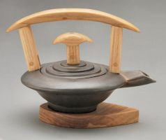 pagoda tea pot by cl2007