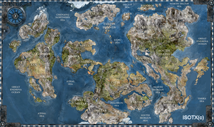 Iron Grip World Map by Monkey-Paw