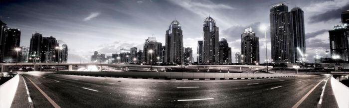 urban fly-over 1 by almiller