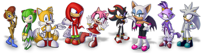 Sonic Characters - for Sonic.Reactor (part 2) by Kirumo-Kat