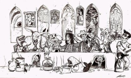 The Last Supper by Bunto