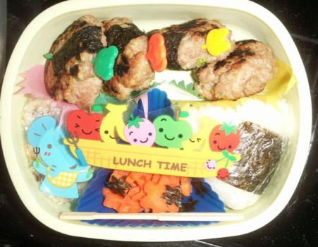 bento bento lunch time by otepoti