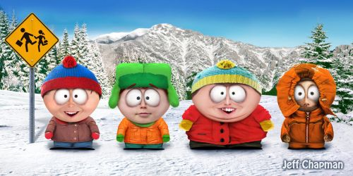 Real South Park Kids by Jeffach