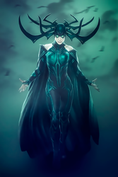 Hela by AcCreed