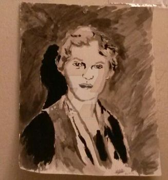 Amelia Earhart portrait by TheIronLady4595