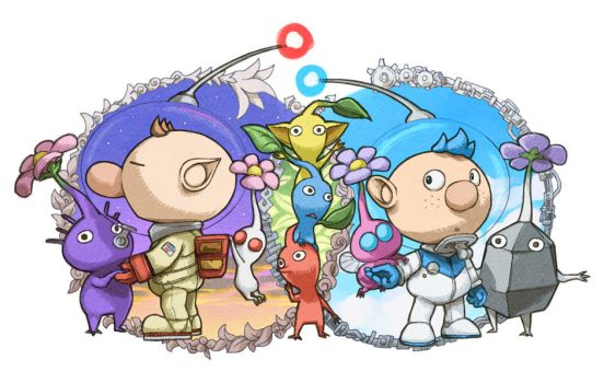 Pikmin fanart log / October-November 2013 by WishField