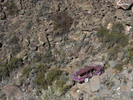 Old Car in Rio Pueblo Gorge by angelstar22