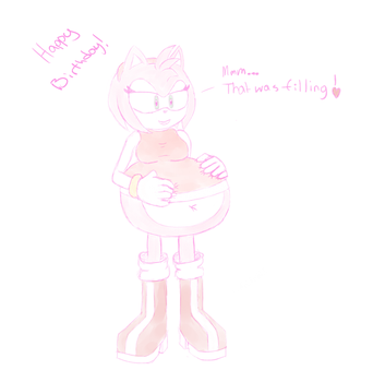 Amy Eats Your Cake by MXBB