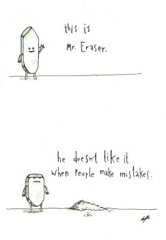 Mr. Eraser by john-alan
