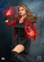 Scarlet Witch by geneshock19