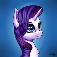 [COMMISSION] Rarity by Setharu